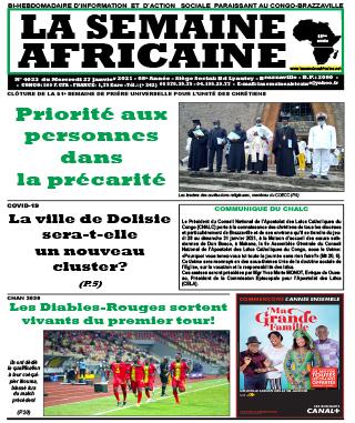 Cover La Semaine Africaine - 4033