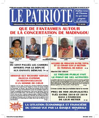 Cover Le Patriote - 600