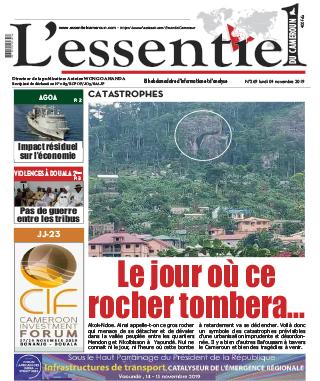 Cover L'Essentiel du Cameroun - 269