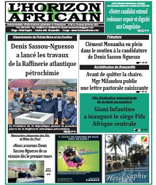 Cover L'horizon Africain - 92