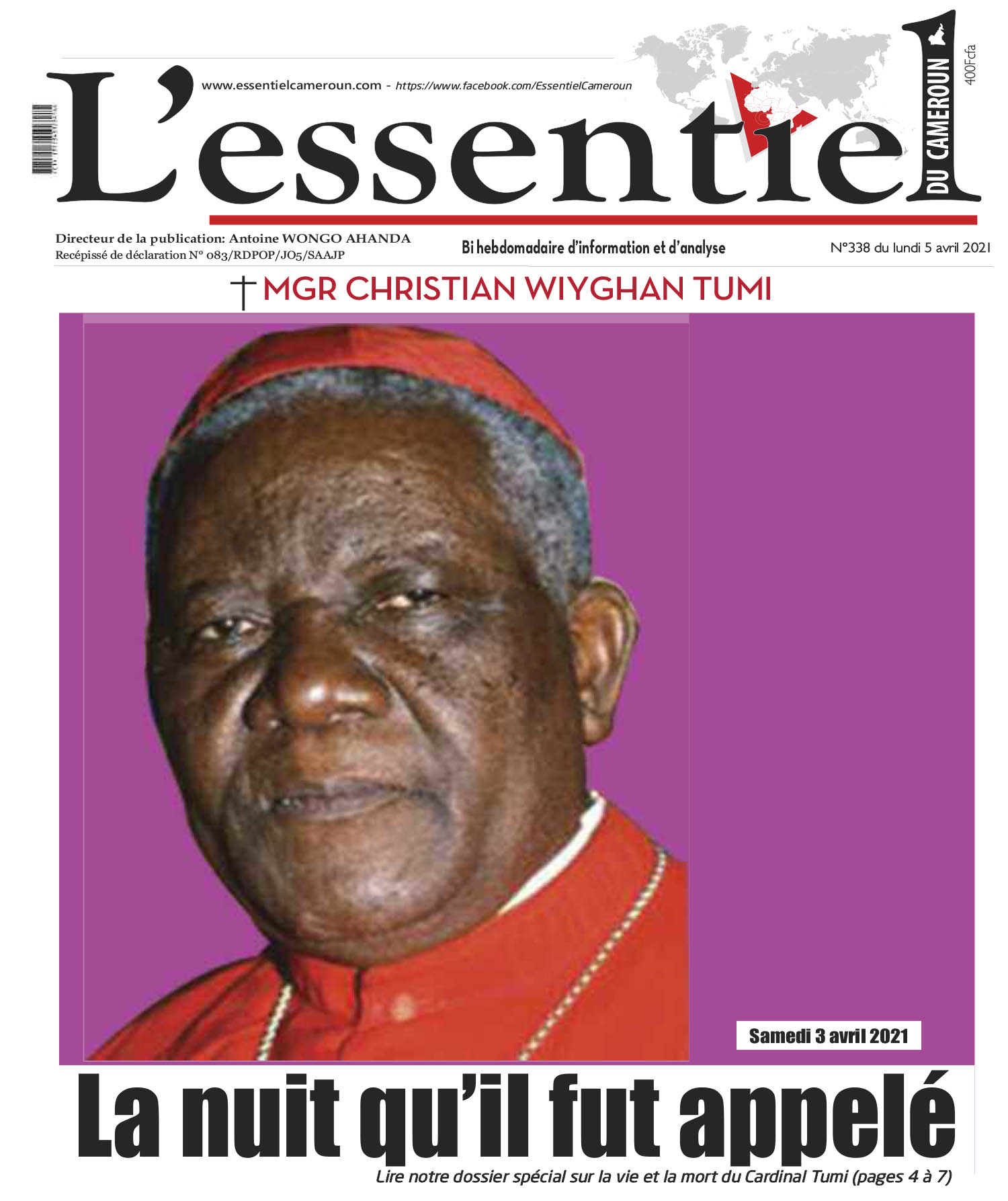 Cover L'Essentiel du Cameroun - 338