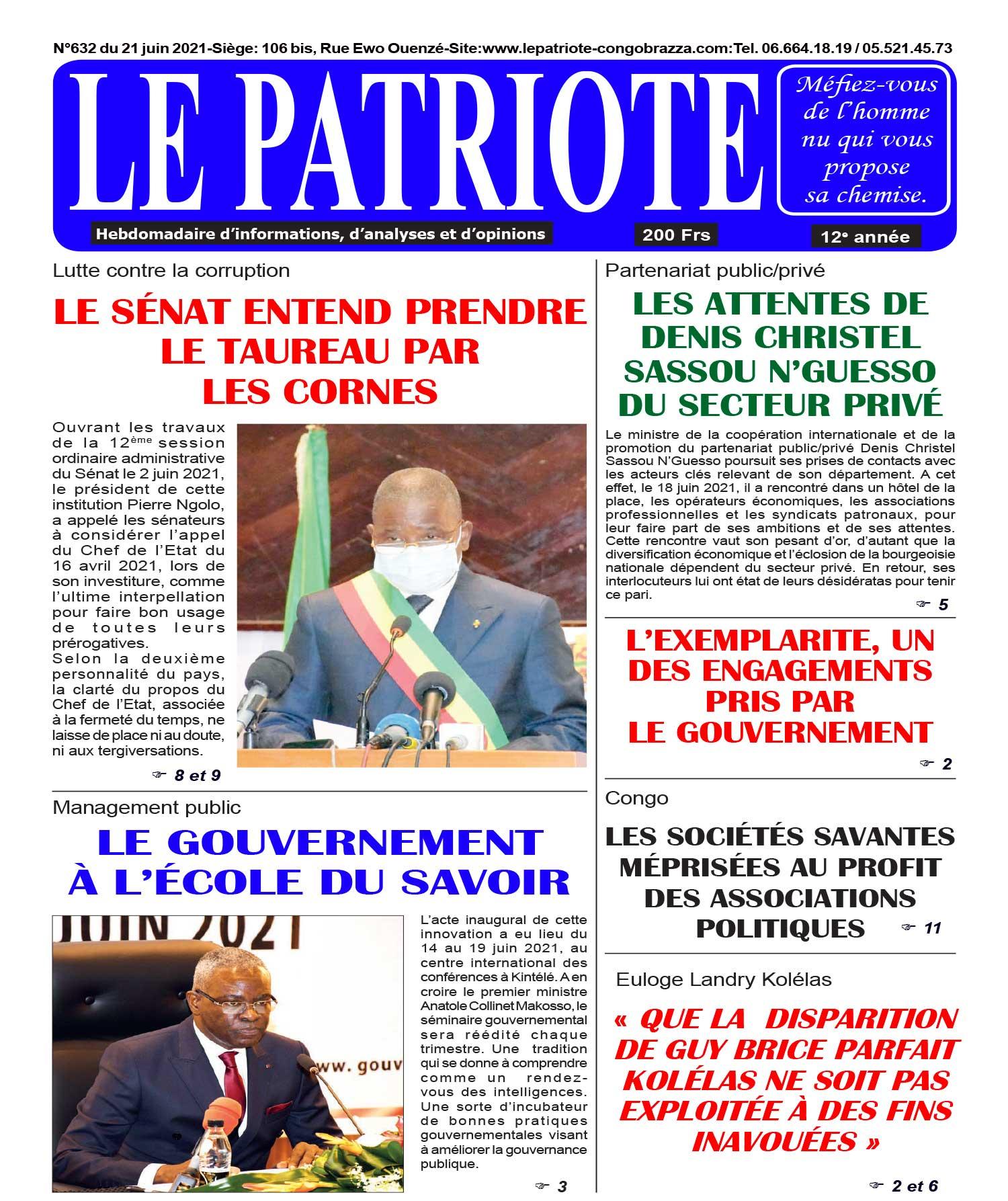 Cover Le Patriote - 632