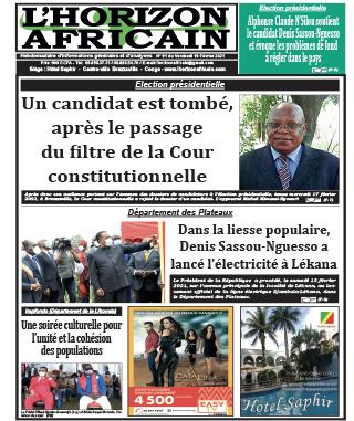 Cover L'horizon Africain - 91
