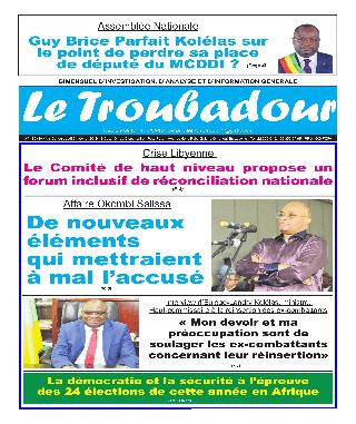Cover Le Troubadour - 136