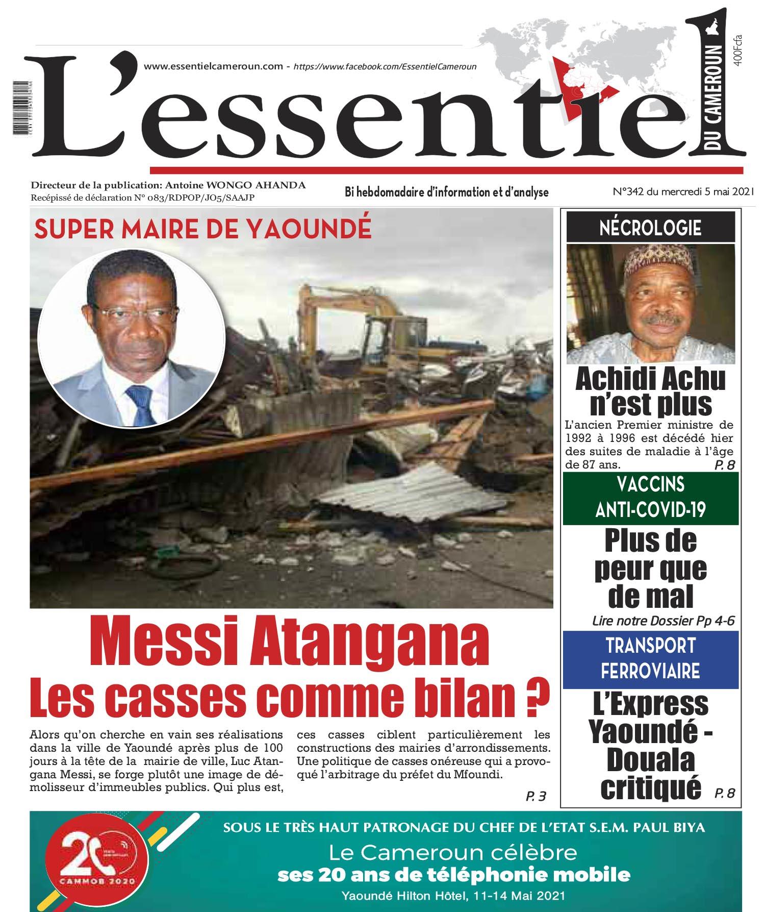 Cover L'Essentiel du Cameroun - 342