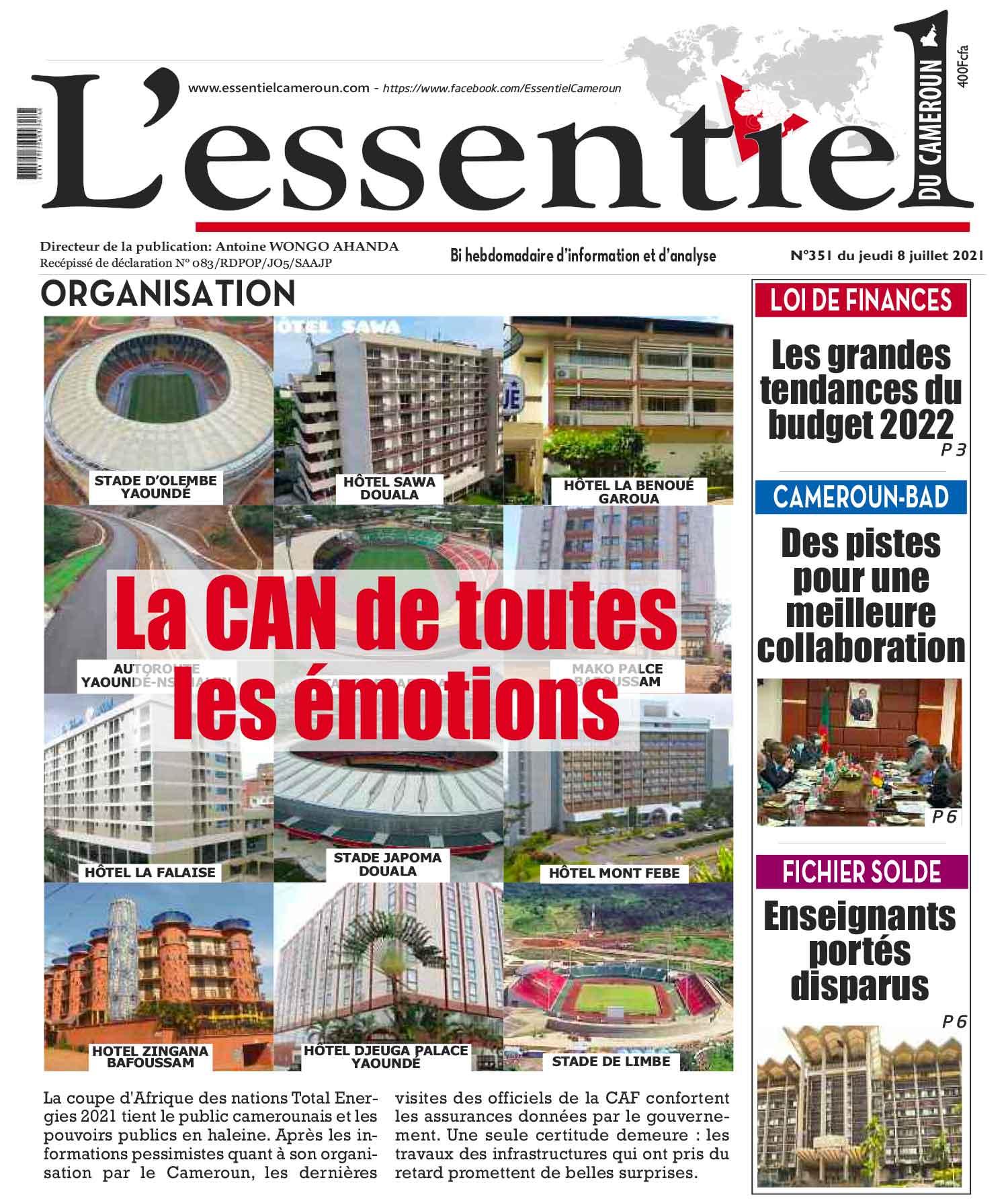 Cover L'Essentiel du Cameroun - 351