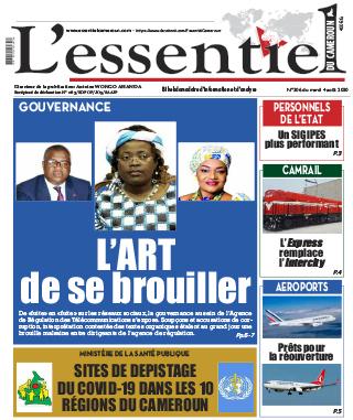 Cover L'Essentiel du Cameroun - 306