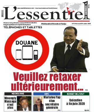 Cover L'Essentiel du Cameroun - 318