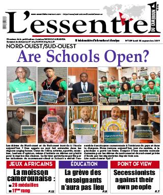 Cover L'Essentiel du Cameroun - 259