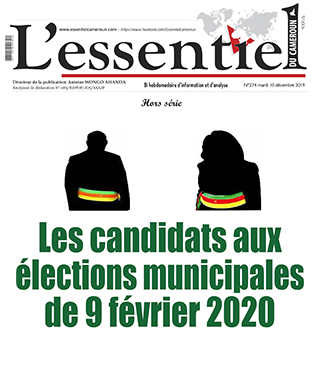 Cover L'Essentiel du Cameroun - 274