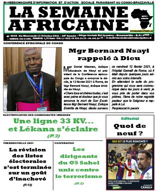 Cover La Semaine Africaine - 4036