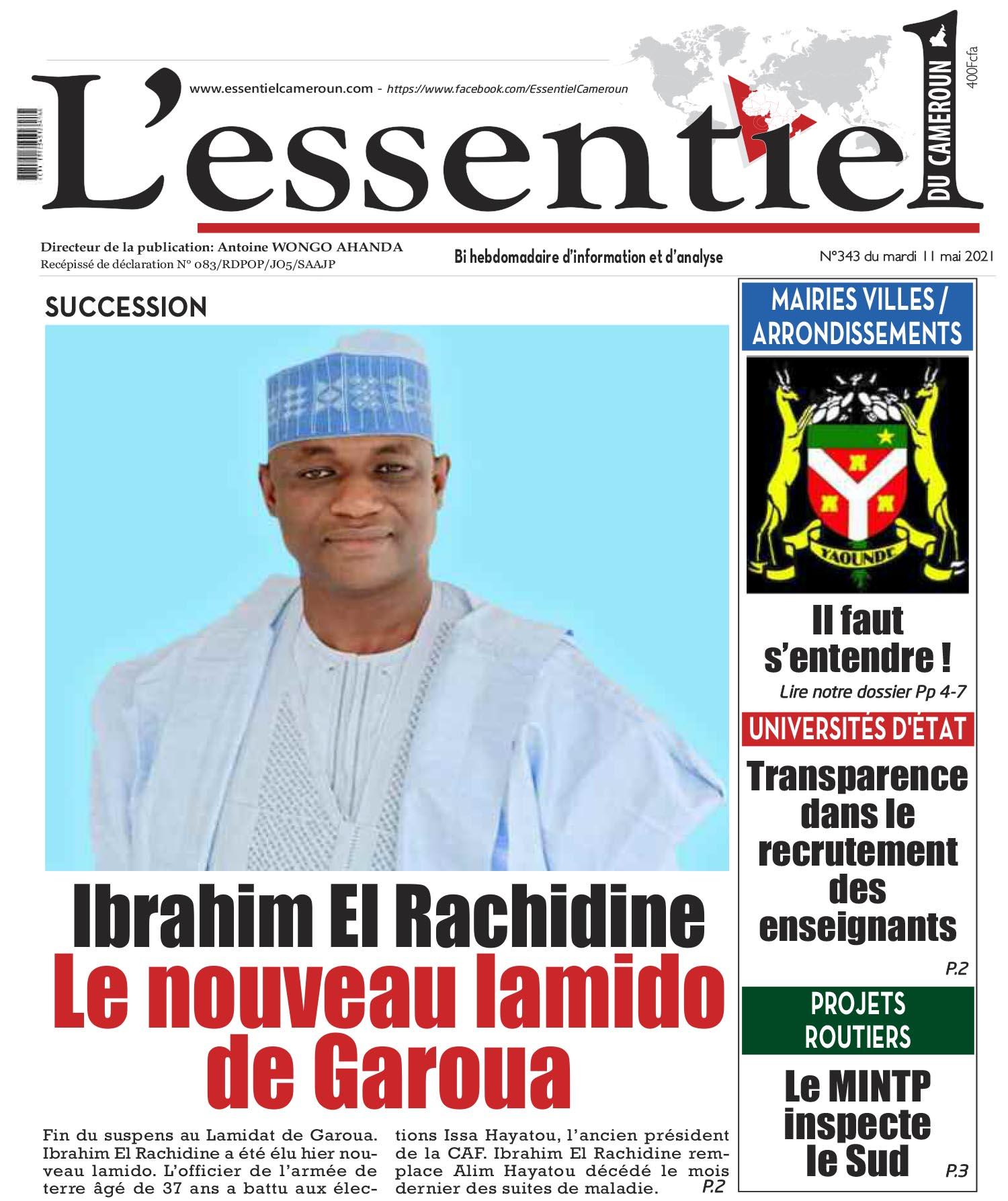 Cover L'Essentiel du Cameroun - 343