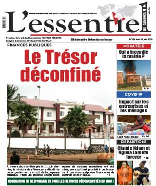 Cover L'Essentiel du Cameroun - 298