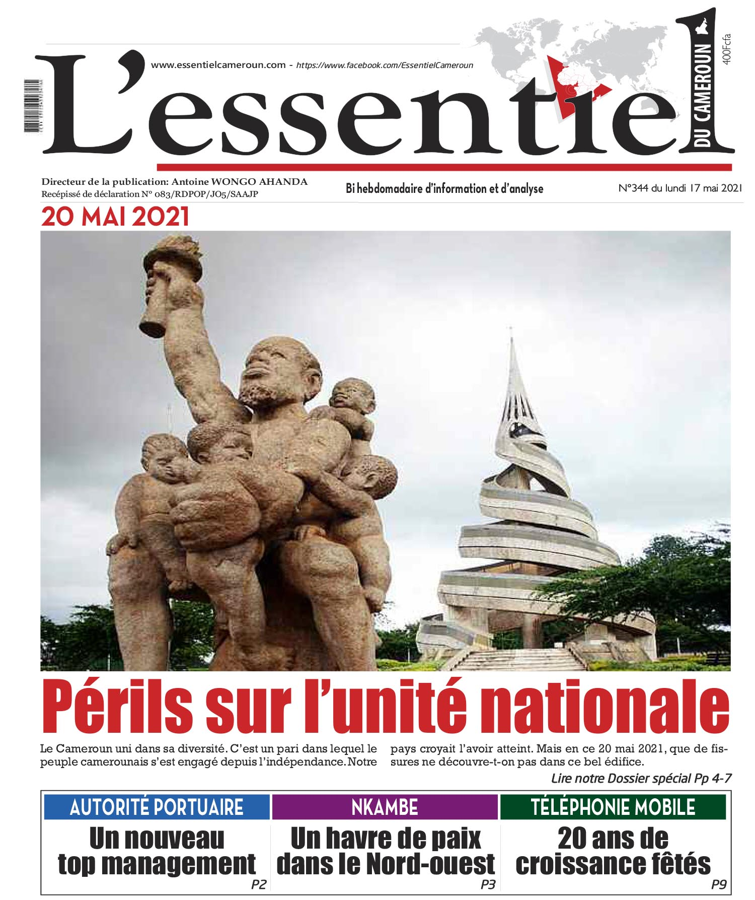 Cover L'Essentiel du Cameroun - 344