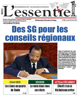 Cover L'Essentiel du Cameroun - 328