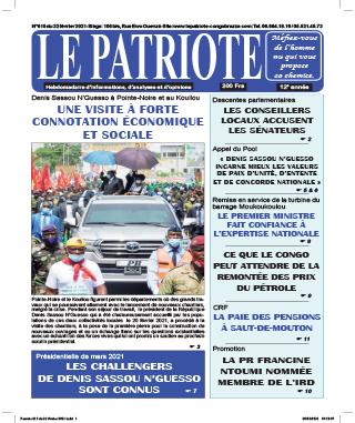 Cover Le Patriote - 615